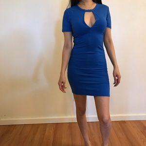 Dresses & Skirts - 🆕 Royal Keyhole Mini Dress